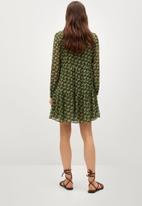 MANGO - Dress viena - green