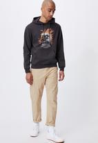 Cotton On - Graphic fleece pullover - grey