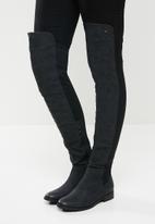 Miss Black - Krabi over the knee boot - black