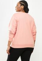 Blake - Oversized sweater - pink