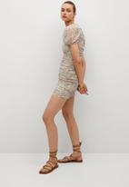 MANGO - Dress fiorella - multi