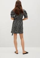 MANGO - Dress covita - black