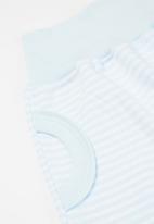 Little Lumps - Slouch pants - blue & white