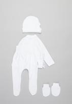 Little Lumps - Bunny layette set - white