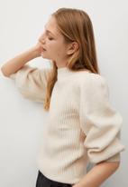 MANGO - Sweater maon - neutral
