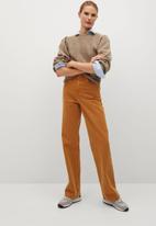 MANGO - Sweater maon - brown