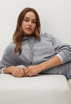 MANGO - Sweatshirt maxime - light grey