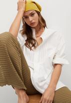 MANGO - Shirt valencia - white