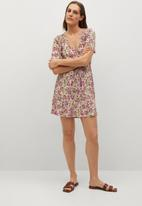 MANGO - Dress pamela - multi
