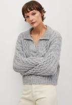 MANGO - Sweater heidi - grey