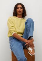 MANGO - Sweater circle - yellow