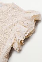 Violeta by Mango - Plus cardigan ulla - light beige