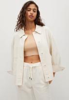 MANGO - Jacket spring - light beige