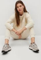 MANGO - Trousers paris - light beige