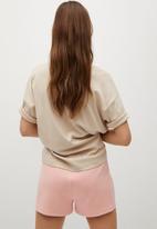 MANGO - Shorts moni - light pink