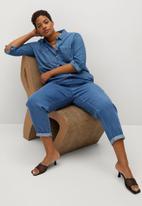 Violeta by Mango - Plus trousers nairobi - blue