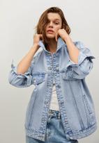MANGO - Jacket seul - blue