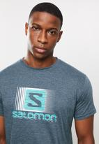 Salomon - Flashback short sleeve tee - blue
