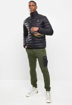 SOVIET - Romeo quilted puffer jacket - black