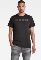 G-Star RAW - G-star r t short sleeve - black