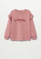 MANGO - Marta sweatshirt - pink
