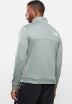 The North Face - Ma 1/2 zip - light green