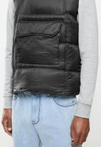 Brave Soul - Briggs jacket - black