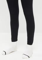Missguided - Petite 2 pack leggings - black