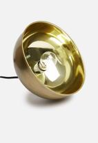Sixth Floor - Bloor pendant - brass