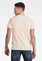 G-Star RAW - Base-s r t short sleeve - pink