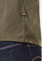 G-Star RAW - Base-s v short sleeve tee - green