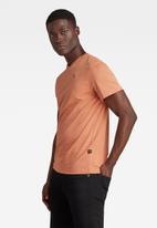 G-Star RAW - Base-s v t short sleeve - orange