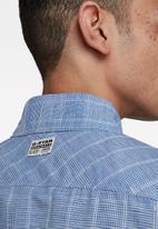 G-Star RAW - Marine service slim long sleeve shirt - blue