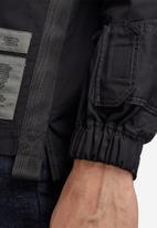 G-Star RAW - Multi slant pocket denim relaxed shirt - black
