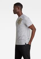 G-Star RAW - Military 3d woven pocket r t - grey