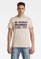 G-Star RAW - Originals hd graphic r t - pink