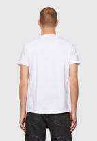 Diesel  - T-diegos-a3 t-shirt - white
