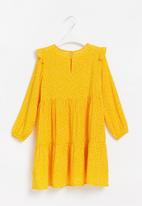 Superbalist Kids - Younger girls tier frill dress - multi