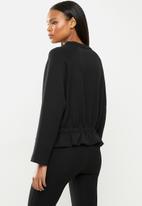 MANGO - Sweatshirt papier - black