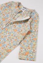 Cotton On - 3 Pack long sleeve zip romper - multi
