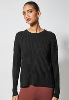 Superbalist - Organic cotton pull over - black