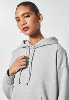 Superbalist - Regular hoodie - light grey