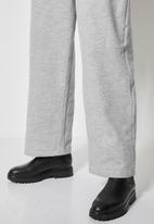 Superbalist - Wide leg track pants - light grey