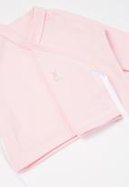 Little Lumps - Bunny layette set - pink