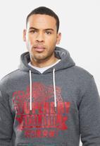 Superdry. - Rw classics hoodie - grey