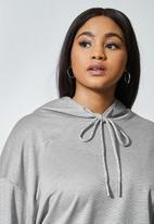 Superbalist - Premium ponti hoodie - grey