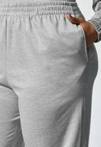 Superbalist - Ponti wide leg track pants - grey