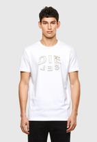 Diesel  - T-diegos-a1 t-shirt - white