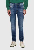 Diesel  - D-istort-x l.32 trousers - mid blue