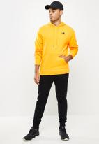 New Balance  - Nb essentials embroidered hoodie - yellow